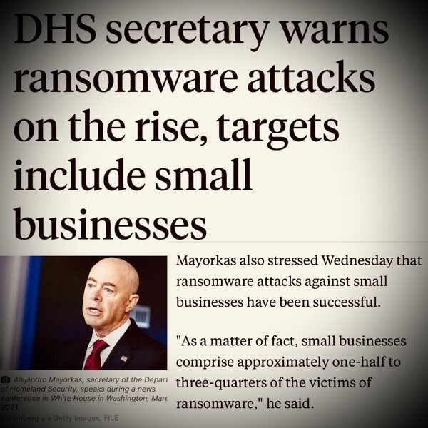 Small Businesses Are Ransomware Targets
